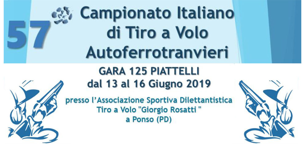 13/16 giugno 2019 – Campionato Nazionale di Tiro a Volo – Le fotografie