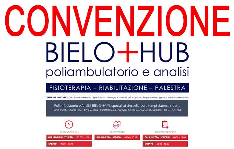 Convenzione Poliambulatorio BieloHub