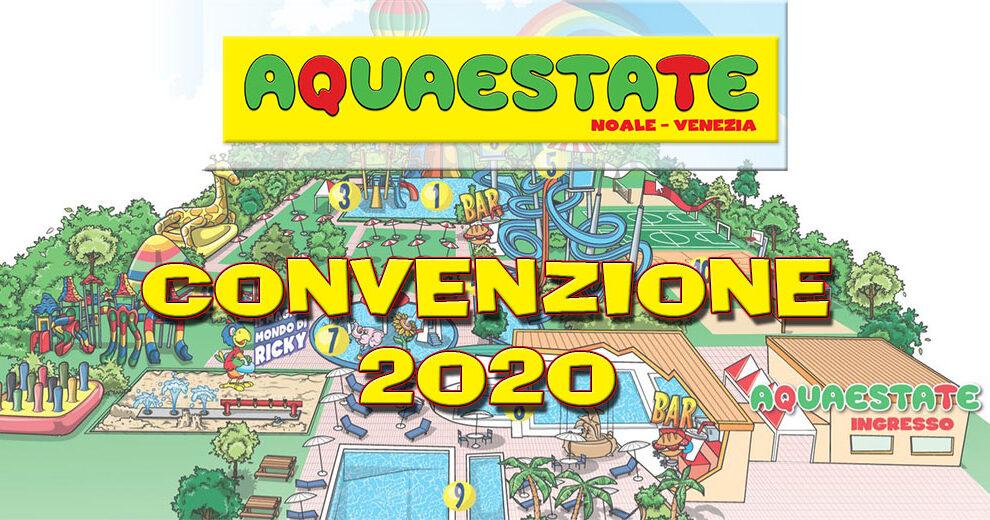 Convenzione Parco Acquatico Aquaestate