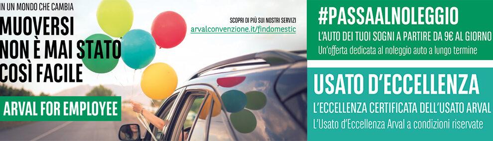 Convenzione Findomestic/Arval – Noleggio auto a lungo termine e vendita auto usate