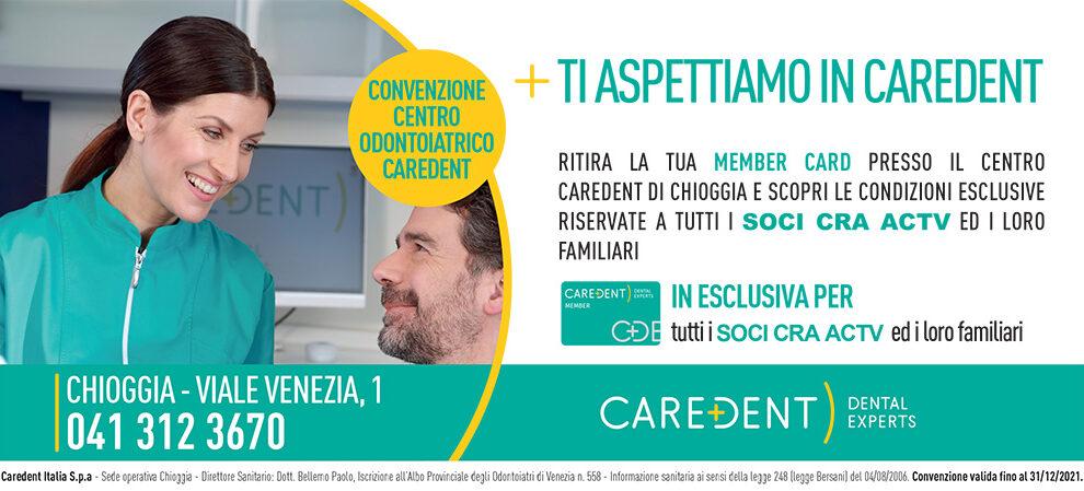Convenzione Centro Odontoiatrico Caredent a Chioggia
