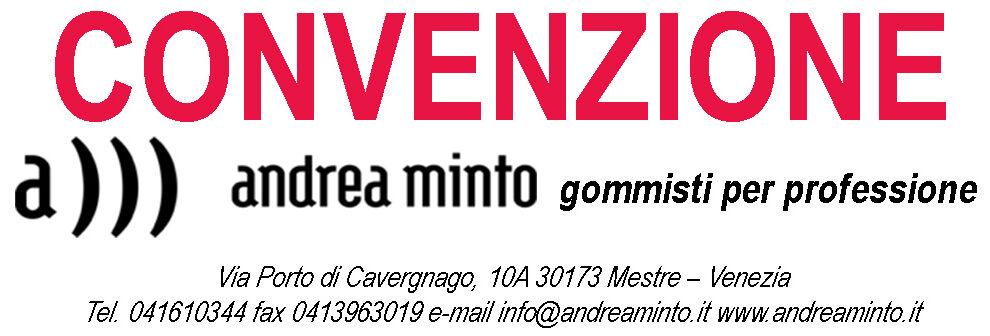 Convenzione Andrea Minto – Gommisti per professione
