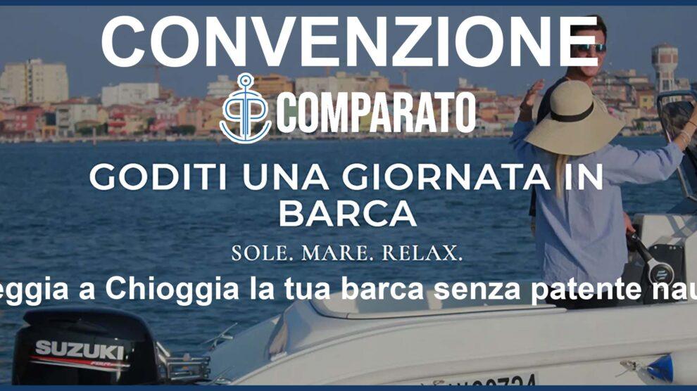 Convenzione Comparato noleggio barche a Chioggia