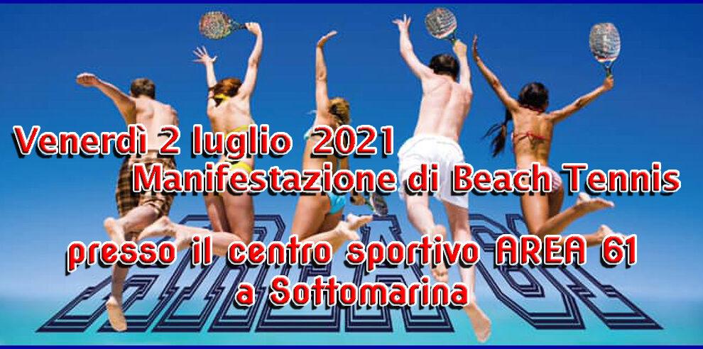 02/07/2021 Manifestazione di Beach Tennis a Sottomarina
