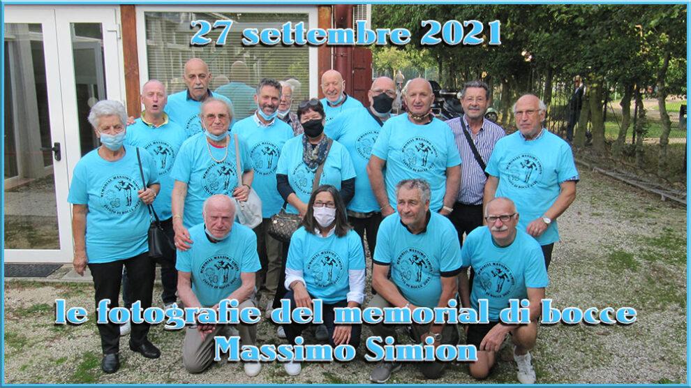 27/09/2021 Memorial di bocce Massimo Simion – le fotografie