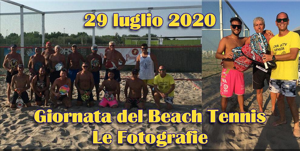 29/07/2020 Le fotografie della manifestazione di Beach Tennis a Chioggia