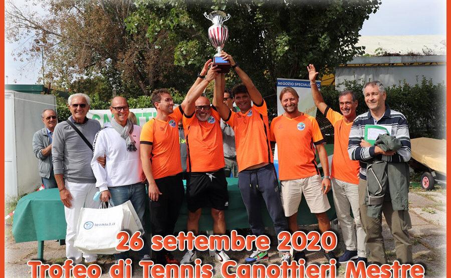 26/09/2020 Trofeo di Tennis Canottieri Mestre, gli atleti del CRA ACTV vincono la coppa – Le fotografie