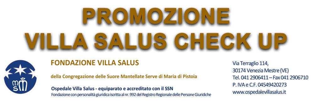 Promozione Check Up Villa Salus